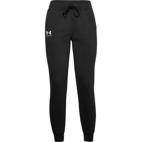 Tepláky Under Armour  RIVAL FLEECE SPORTSTYLE GRAPHIC PANT-Bla