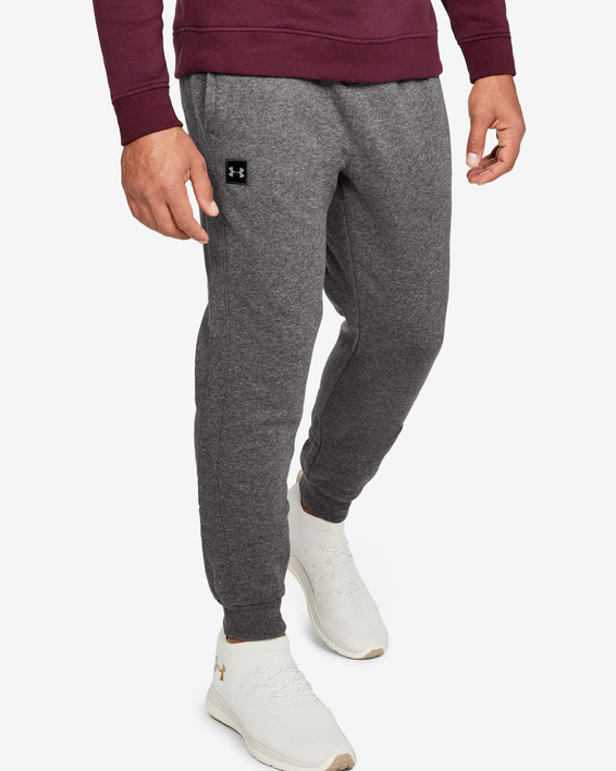 Tepláky Under Armour  RIVAL FLEECE JOGGER-GRY