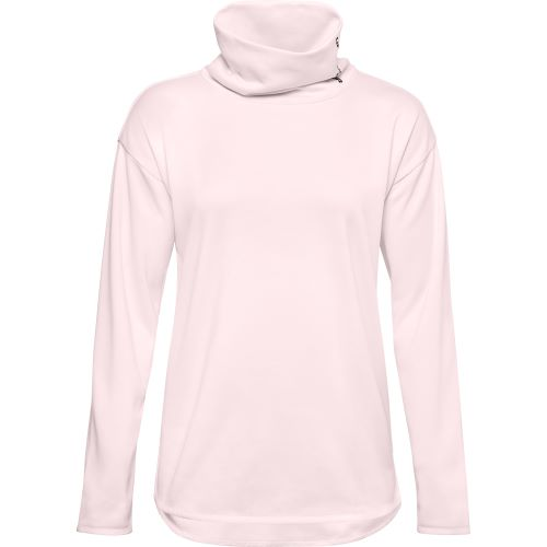 Mikina Under Armour Fleece tunel neck pnk