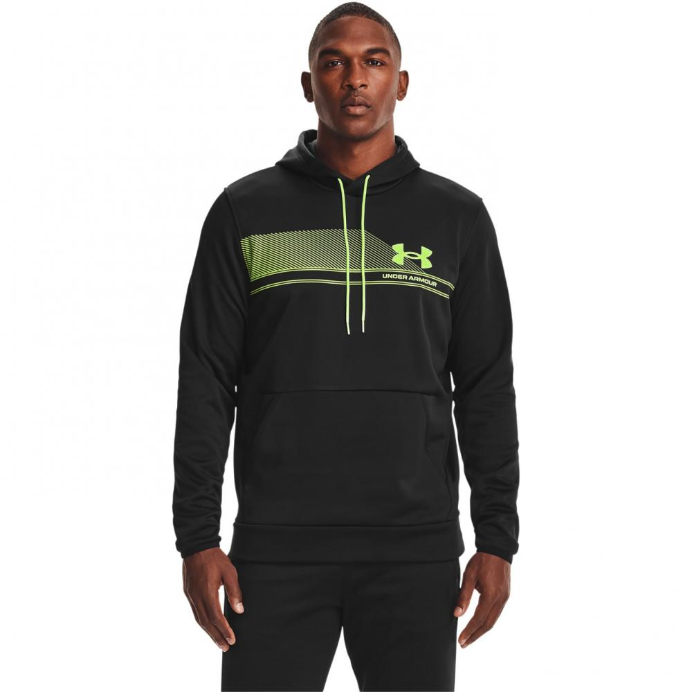 Mikina Under Armour AF graphic hoodie blk