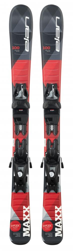 LYŽE ELAN MAXX BLACK RED QS + EL 7.5