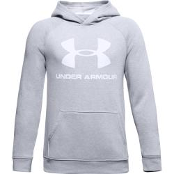 Mikina Under Armour  Rival Logo Hoodie-GRY