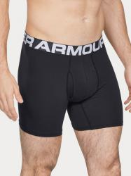 Boxerky Under Armour  Charged Cotton 6in 3 Pack-BLK