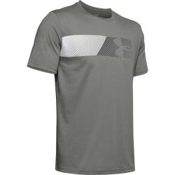 Tričko Under Armour   FAST LEFT CHEST 2.0 SS-GRN