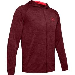 Mikina Under Armour  TECH 2.0 FZ HOODIE-RED