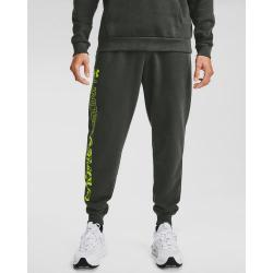 Tepláky Under Armour UA Rival Flc Graphic Joggers-GRN