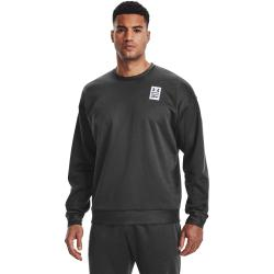 Mikina Under Armour UA RECOVER LS CREW-BLK