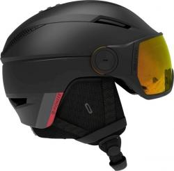 Prilba Salomon PIONEER VISOR PHOTO Blk/AW